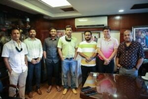 Walton MD Golam Murshed With BCB Directors